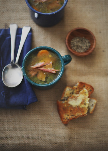 The Gluten Free Scallywag - Pea & Ham Soup