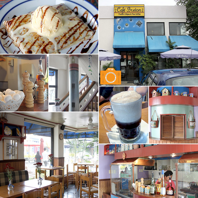 Cafe Breton collage