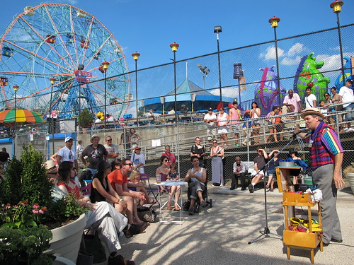 History Day at Deno's Wonder Wheel Park and Coney Island History Project