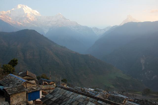 View from Gandruk