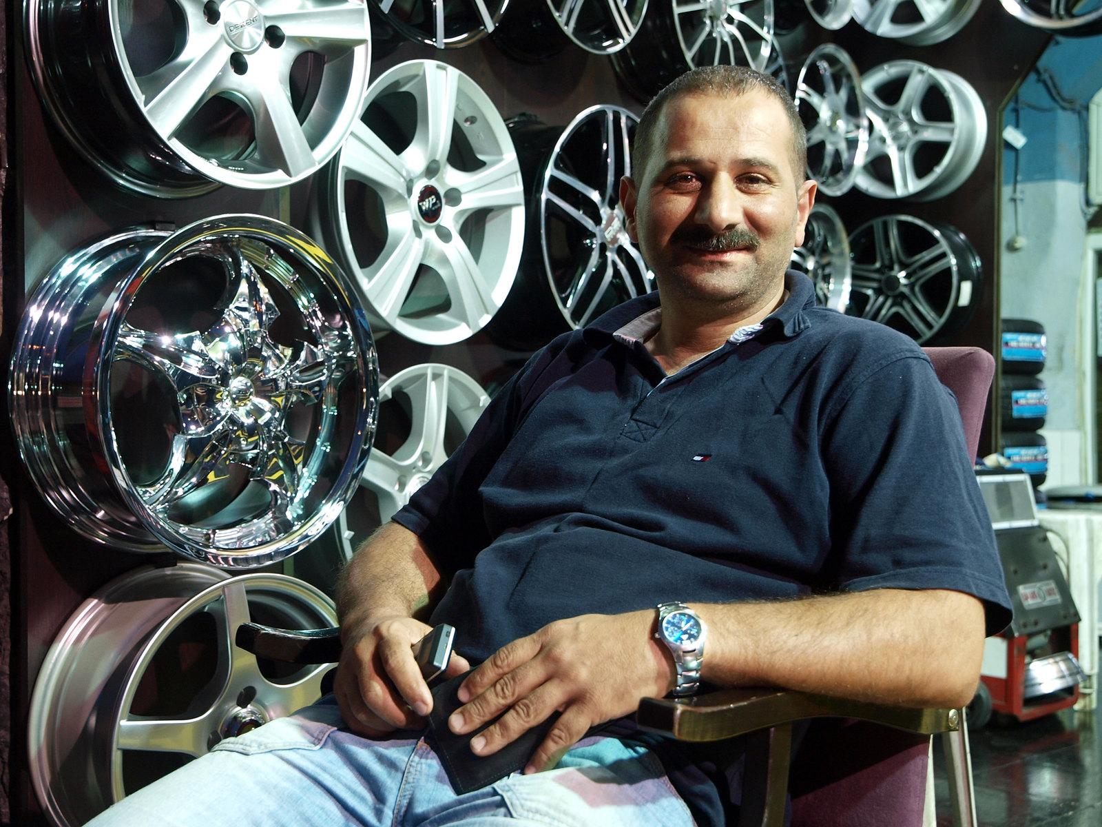 Portraits d'Istanbul - le garagiste