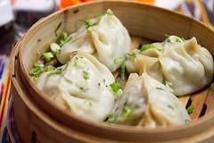 Manty (meat dumplings)