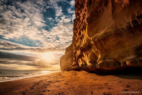 日落 风光 rog 英国 摄影 色彩 超广角