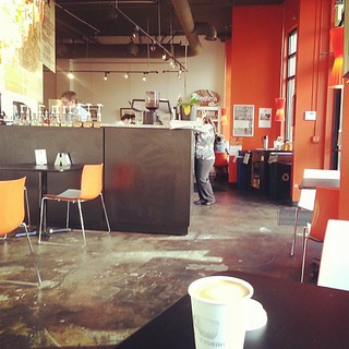 Rise and shine at Caffe Torino / Eastlake #coffee #Seattle