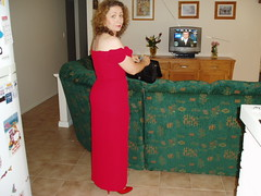 Amanda dressed in red 3 - Mar 2004