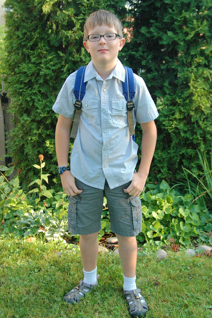 day 3350: first day of third grade!