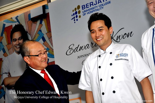 The Honorary Chef Edward Kwon of Berjaya University College of Hospitality 7