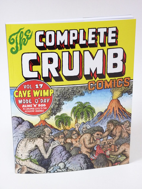 The Complete Crumb Vol. 17 cover