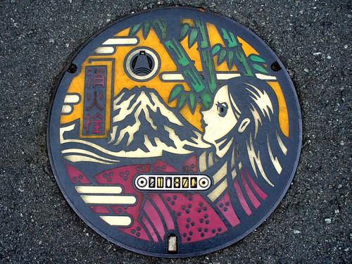 Fuji Shizuoka , manhole cover 2 (静岡県富士市のマンホール2)