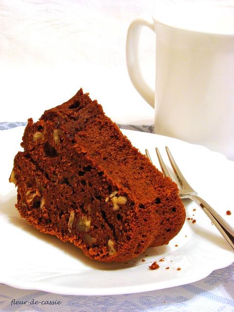 тыквенно-шоколадный кекс 4