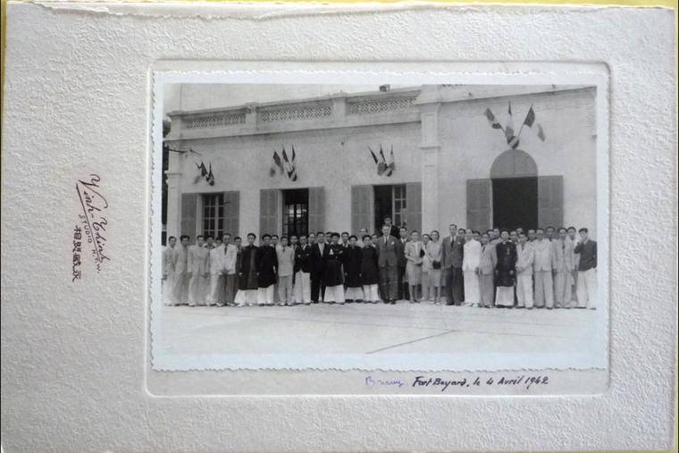 Copy of francais et chinois à FORT BAYARD 4 avril 1942