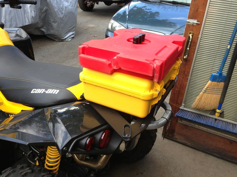 Fuel Pack On Renegade Can Am Atv Forum