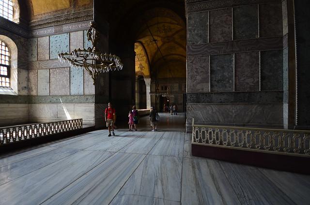 Habitaciones superiores de la mezquita de Santa Sophia