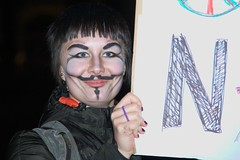 Vyšší dívčí - makeup místo masky