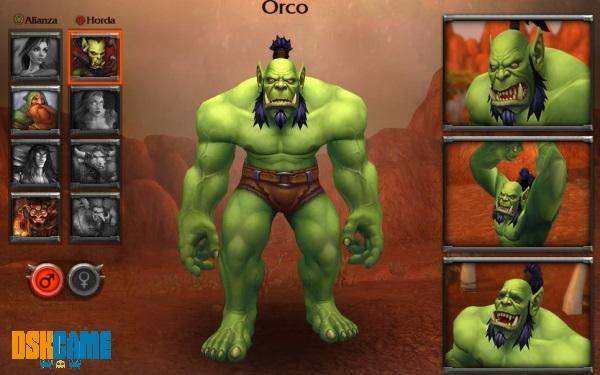 Clases mejoradas Orco para Warlords of Draenor