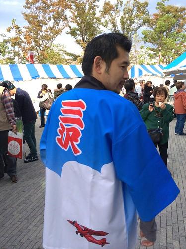 iPhone5sで撮影 三沢はっぴ 青森人の祭典