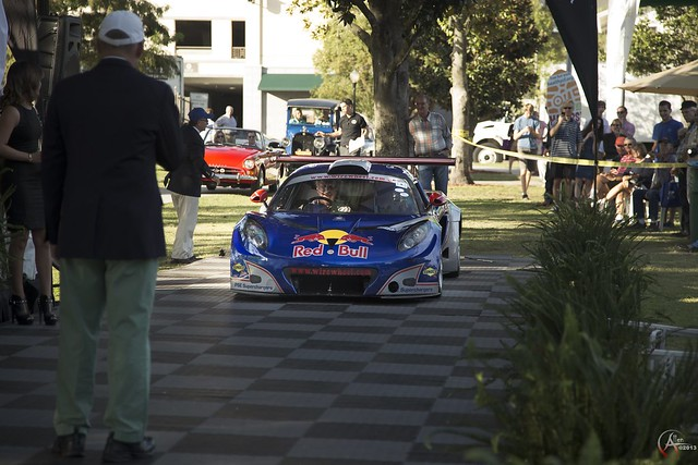 The Red Bull GT3 wins best in competition class