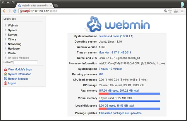 Schön After Logging In, You Will See The Status Summary Of Your Linux Server As  Follows.