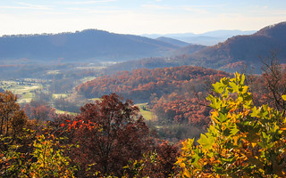View From Walnut Cove Overlook (Blue Ridge Parkway, NC)
