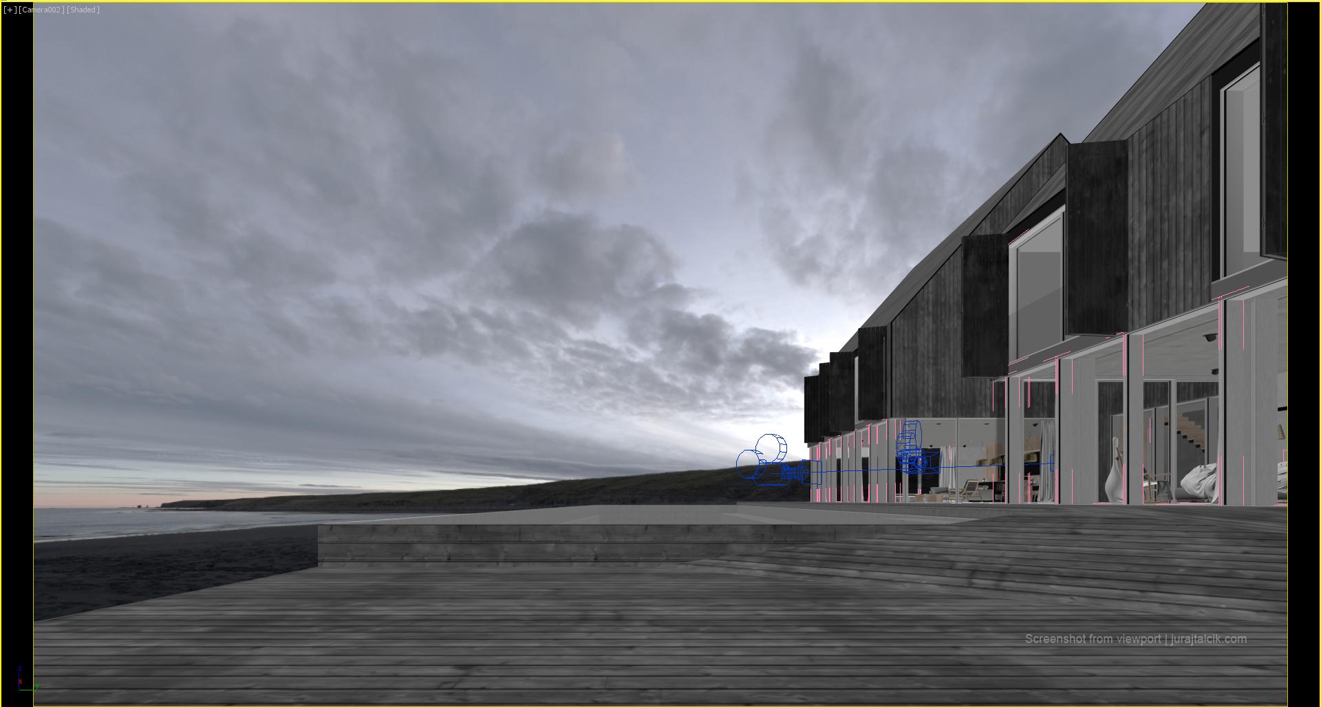 Iluminacion exterior cinema 4d