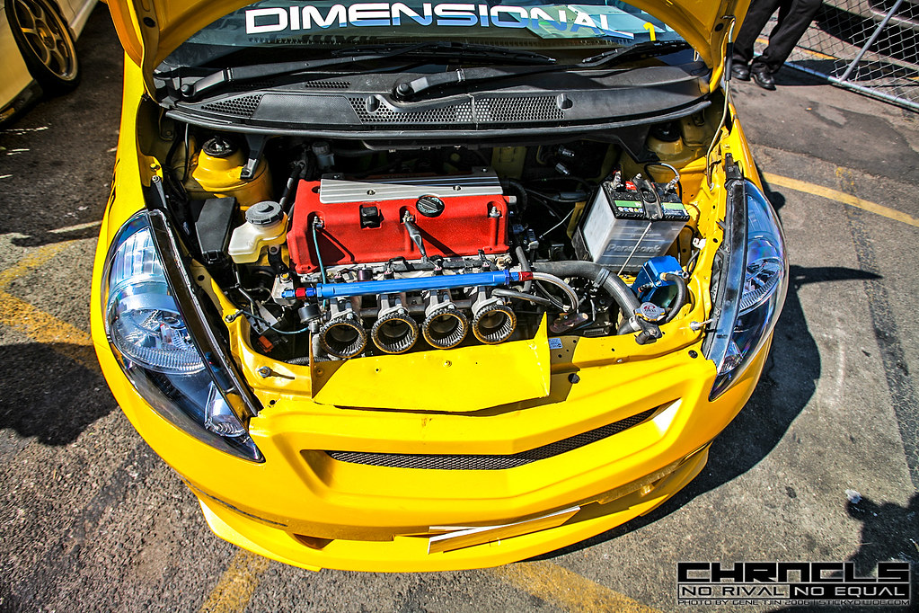Honda Fit K20 Swap K20-swapped Widebody Honda Fit