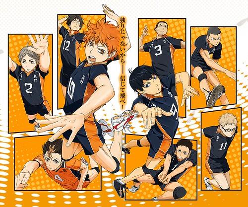 131205(1) - 2014年4月新動畫《ハイキュー!!》(排球少年)公開首支預告片、第三批「烏野高校」角色聲優名單!