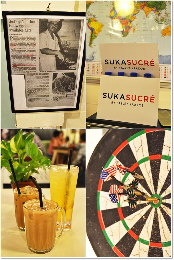 Newspaper Coverage, Dart Board & Drinks