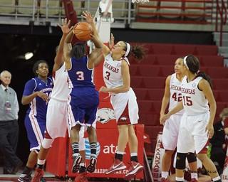 University of Arkansas vs Northwestern State University Basketball
