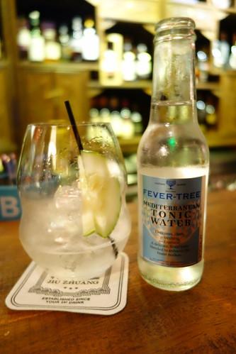 Rachie's Gin & Tonic at Jiu Zhuang