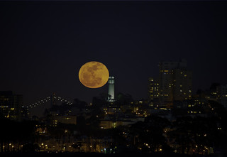 Coit Full Moon re-visited