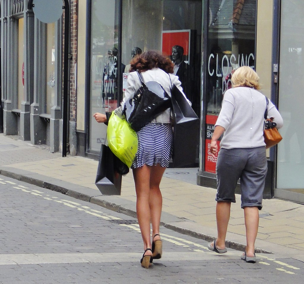 York City Centre June 2013 Candid All Legs And Shopp Flickr