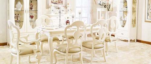 paris home online country style dining table set