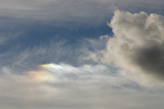 Sundog in a turbulent sky 4 Oct 2013