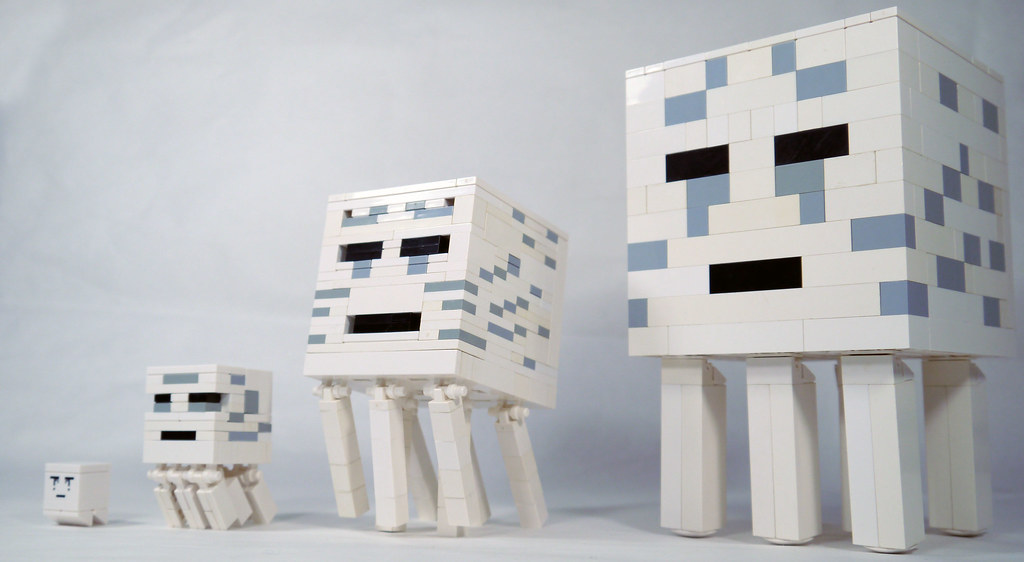 How To Build Lego Minecraft Ghast A Photo On Flickriver