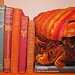 Small photo of Books, scarves and the hint of a trip