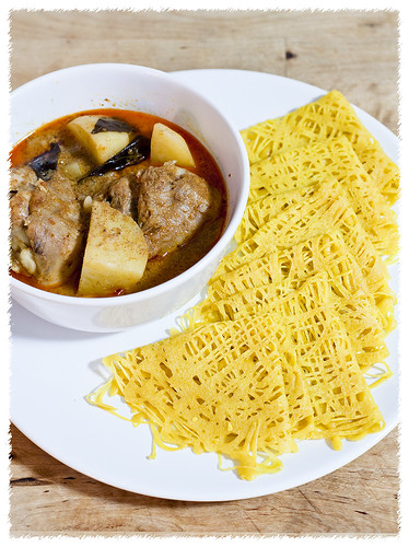 Roti Jala Malaysian Curry Chicken