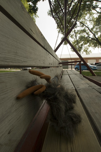 Stuffed Jackalope at the World's Largest Porch Swing