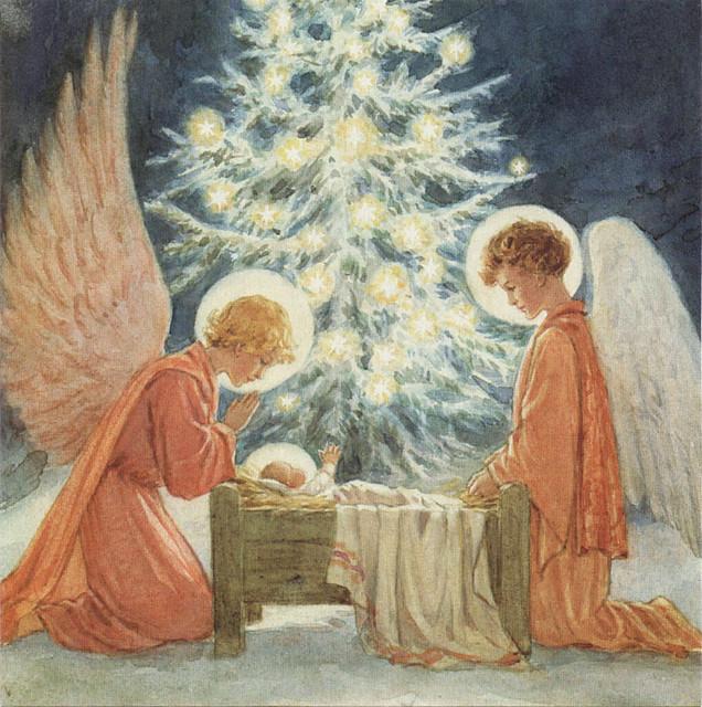 Margaret Tarrant Christmas Card