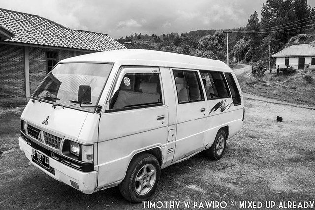 Indonesia - Medan - Samosir Island - Our car