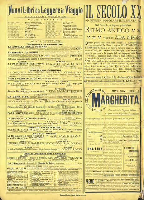 L'Illustrazione Italiana, Nº 30, 27 Julho 1902 - contra-capa