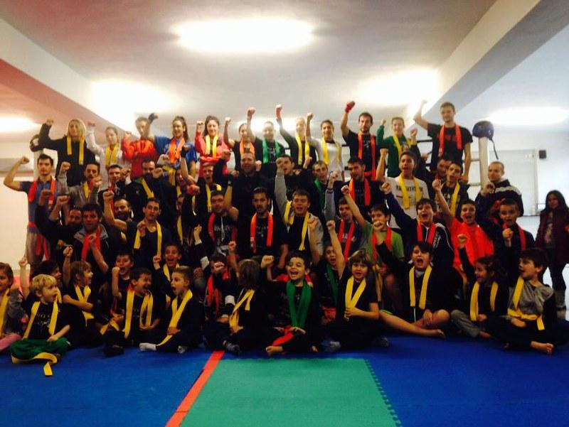 Εξετάσεις Ζωνών σε Fight Club Λάρισα και Παρνασό