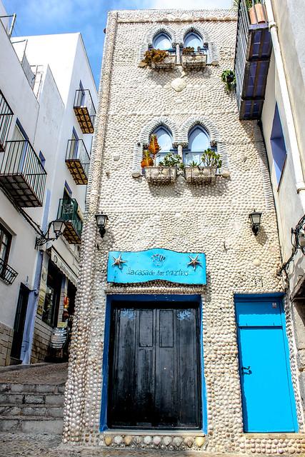Peñíscola, en Castellón, España
