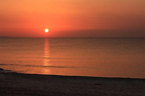 sea landscape cyprus surise seacape