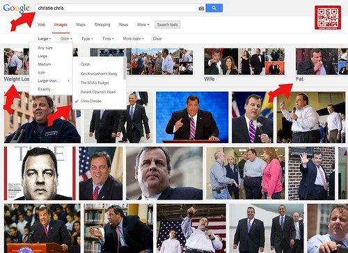 CHRIS CHRISTIE IMAGE SEARCH by WilliamBanzai7/Colonel Flick