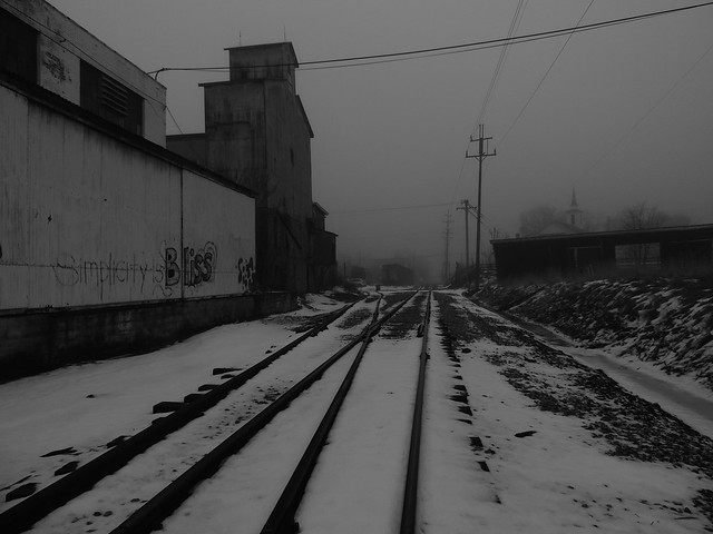 Railroad through Hartville