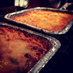 SO proud of myself; managed to make ONLY TWO Lasagnas tonight. AND they were done before midnight! #adventure #nerdstchef