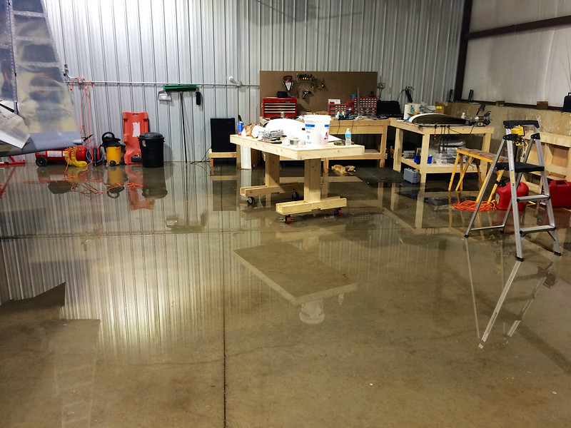 Hangar Flood