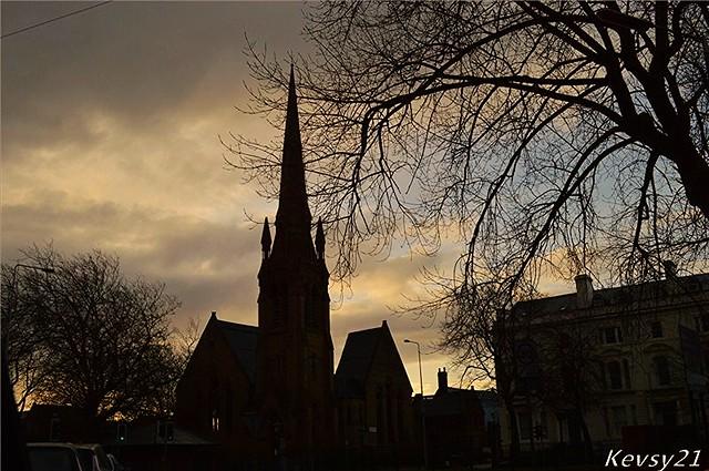 Welsh Presbyterian Church Silhouette