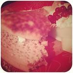 Dessert. Point of view halfway-through. ♡