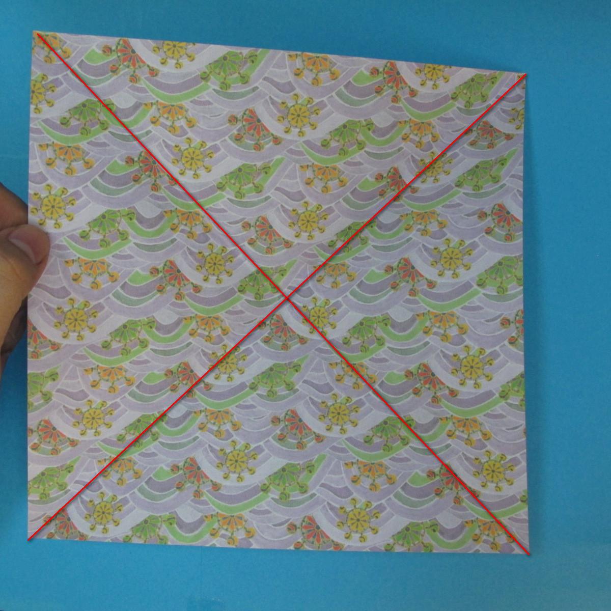 สอนวิธีพับกระดาษเป็นช้าง (แบบของ Fumiaki Kawahata) 002